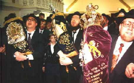 Completion ceremony of a Torah writing campaign